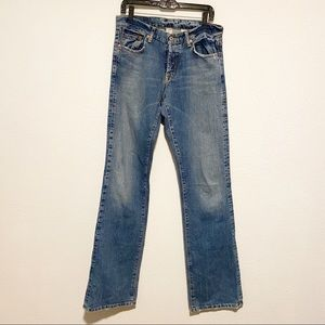 Lucky Brand Slim Bootleg Hendrix Extra Length Jean